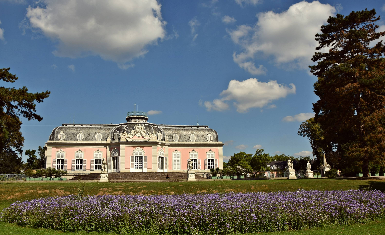 Замок бенрат (schloss benrath) - замки германии