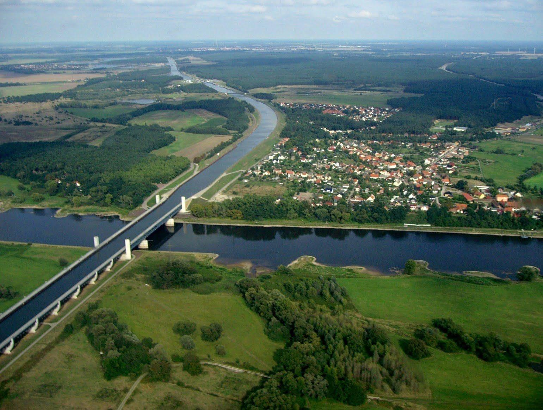 Магдебургский водный мост - уникаальное инженерное сооружение