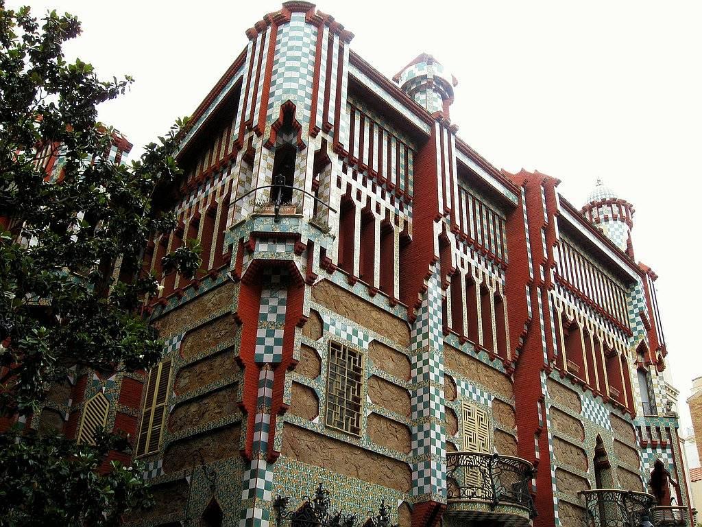 Дом Висенс: украшение Барселоны с восточным колоритом