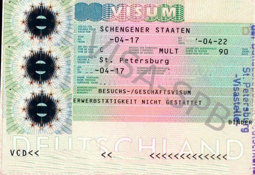 Что нужно для получения визы в германию: необходимые условия и перечень документов