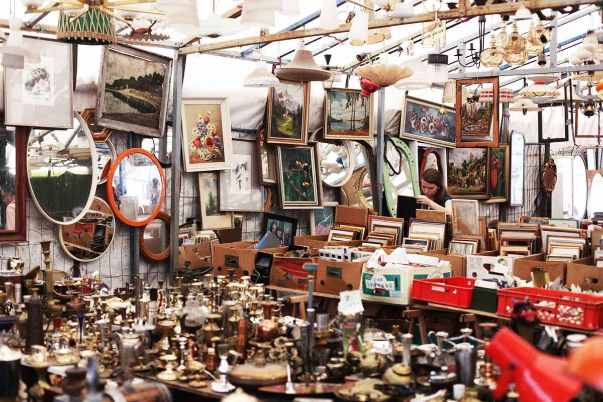 Flohmarkt    германия блошиные рынки и их популярность