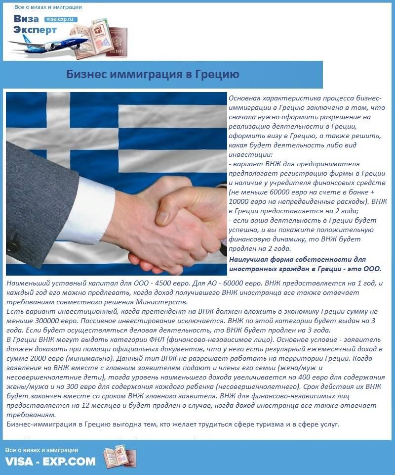 Самый бюджетный переезд в европу с помощью внж греции