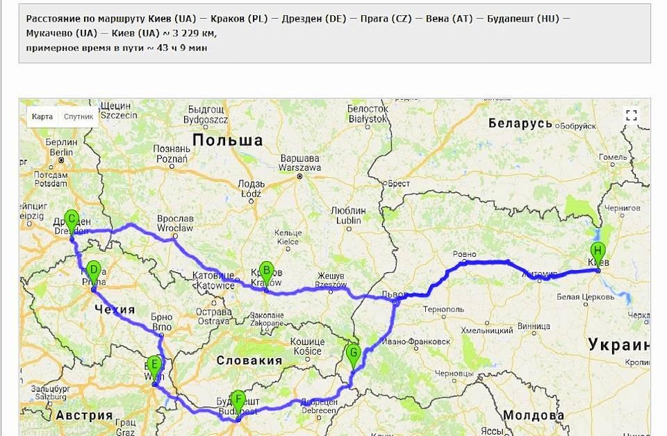 Как быстро и дешево добраться из Праги в Варшаву