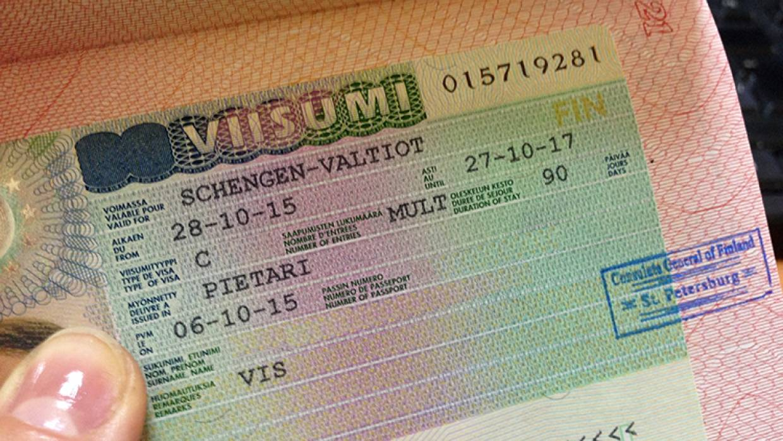 Анкета на финскую визу, пример заполнения