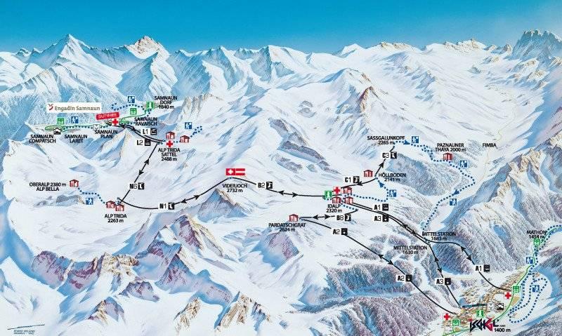 Горнолыжный курорт ишгль в австрии – цены 2021, официальный сайт, отзывы, как добраться, карта, отели рядом на туристер.ру