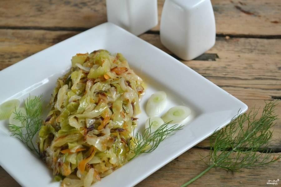 Рецепт приготовления тушеной квашеной капусты по-немецки