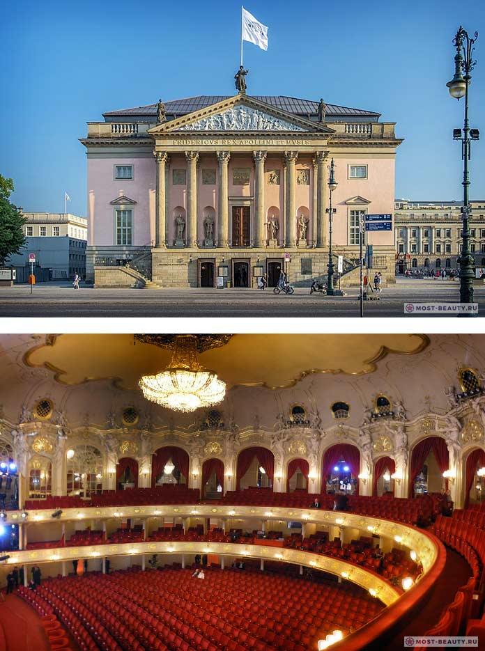 Берлинская (немецкая) государственная опера (deutsche staatsoper unter den linden) | belcanto.ru