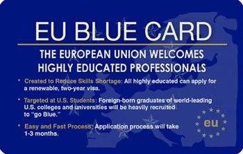 Как получить голубую карту ес россиянину: blue card eu