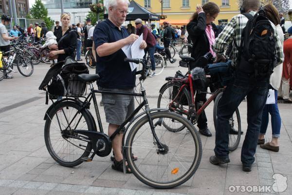 Педальная сила: хельсинки любит велосипеды