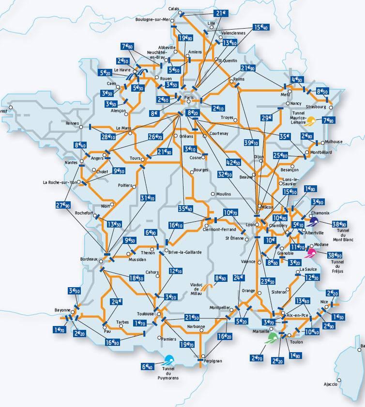 Автомобильные дороги в австрии