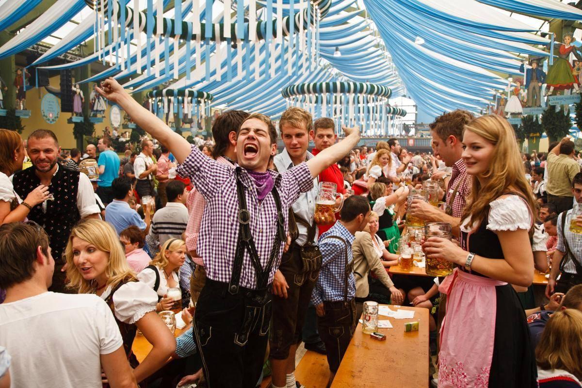 Германия мюнхен октоберфест. история октоберфеста описание фото