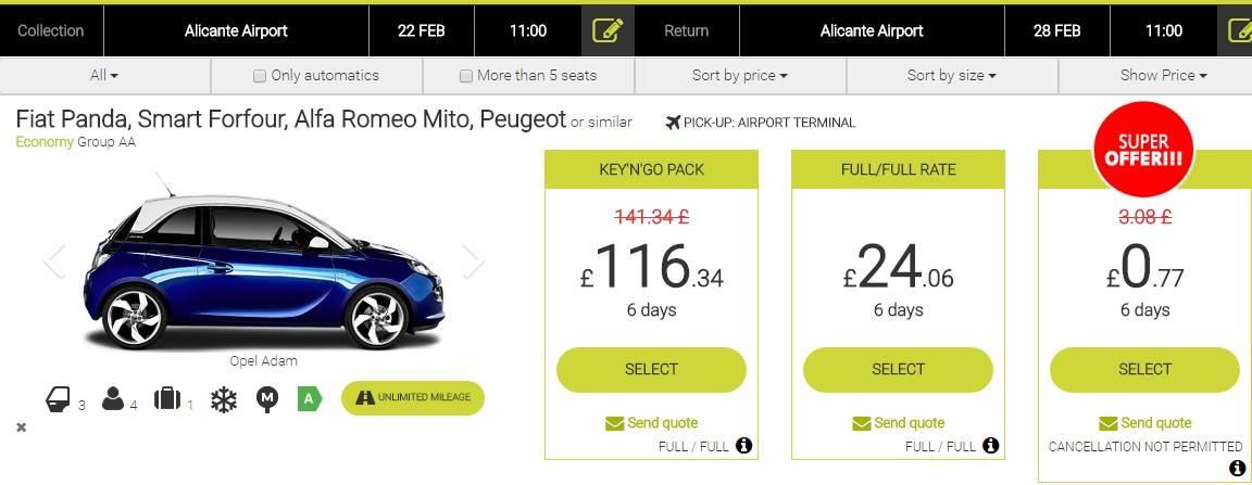 Предложения по аренде аликанте аэропорт от 222 ₽/день: лучшие предложения 2021   discover cars