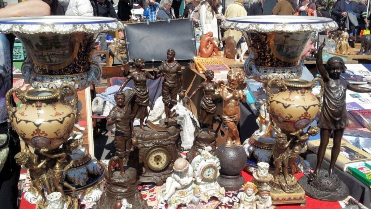 Блошиные рынки парижа: вернезон