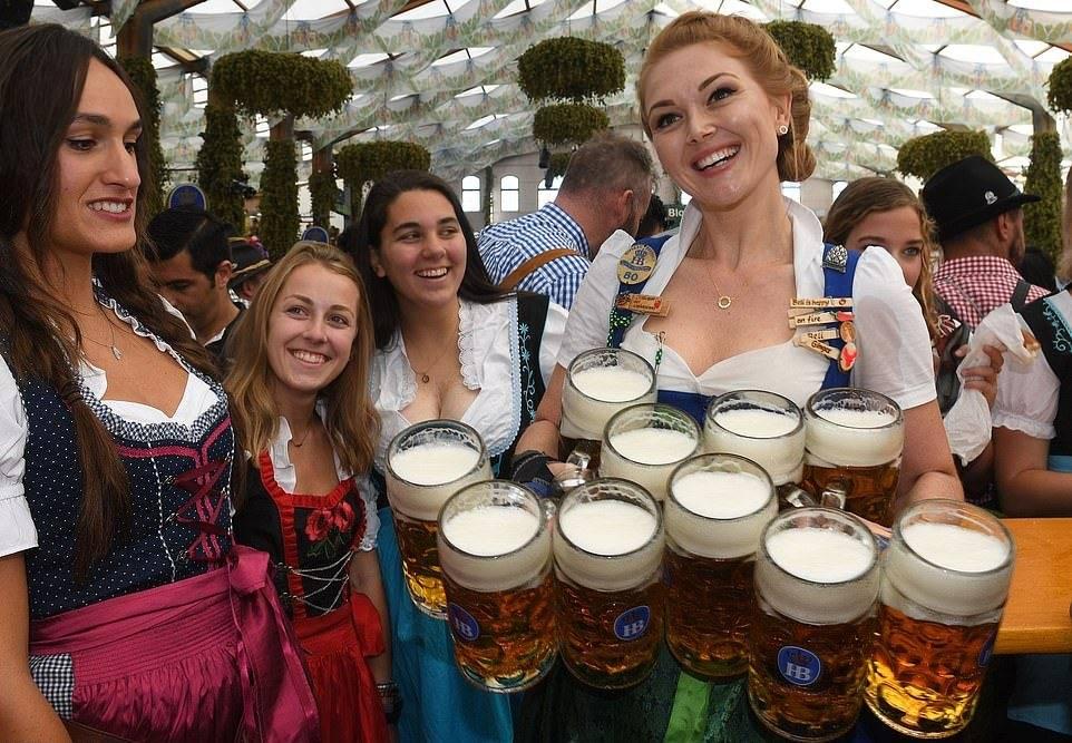 Немецкие ежегодные фестивали.