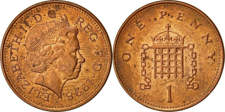 Англия монеты, фунт - национальная валюта