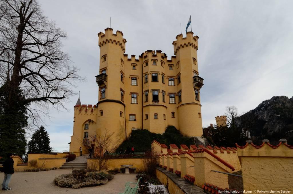 Замок хоэншвангау в германии — история, фото внутри, как добраться — плейсмент