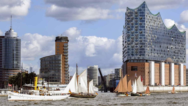 Гамбургская филармония на эльбе возьмет шефство над круизным судном