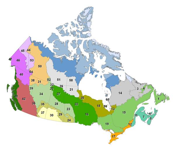 Климат канады