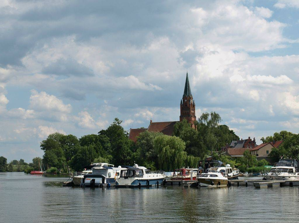 Озёра германии