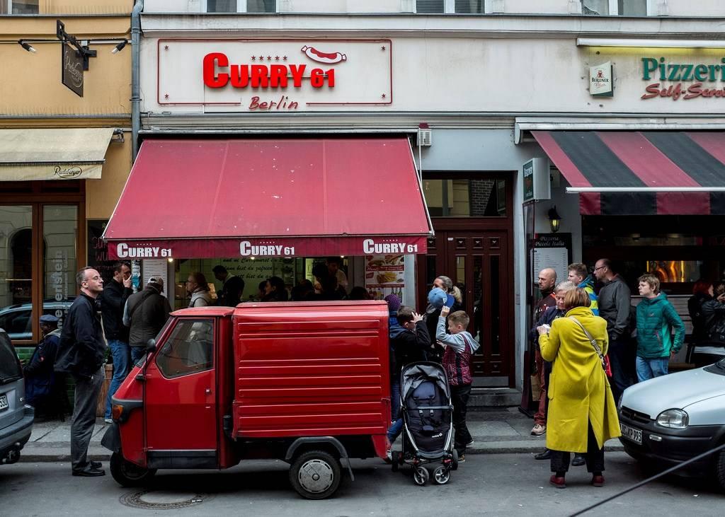 Рестораны и кафе в берлине