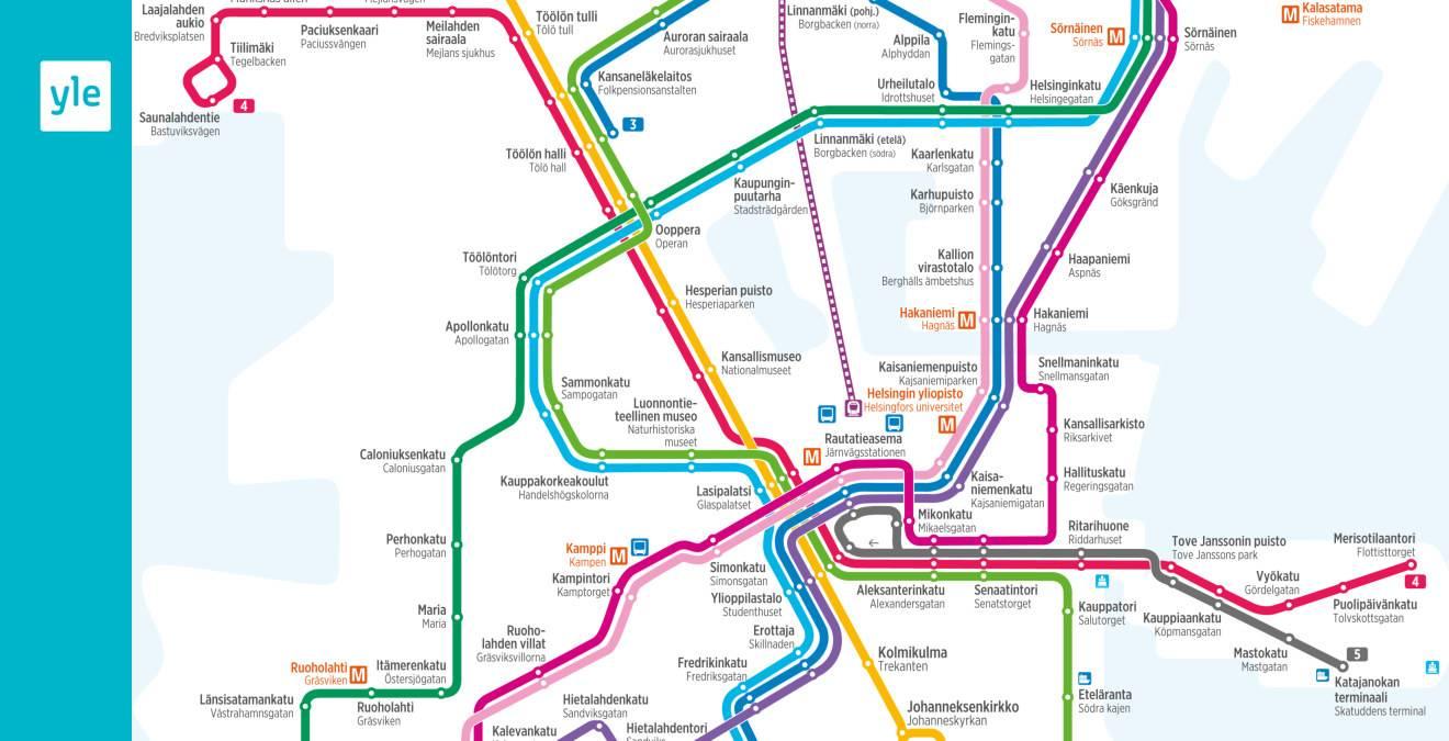 Хельсинкский метрополитен википедия