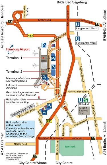 Аэропорт гамбурга как добраться до порта круизного   авиакомпании и авиалинии россии и мира