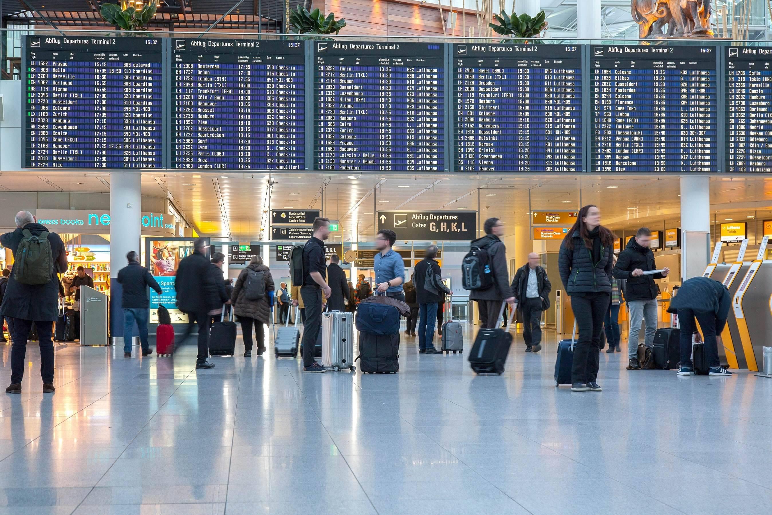 Аэропорт мюнхена. как добраться до центра мюнхена и на австрийские горнолыжные курорты.