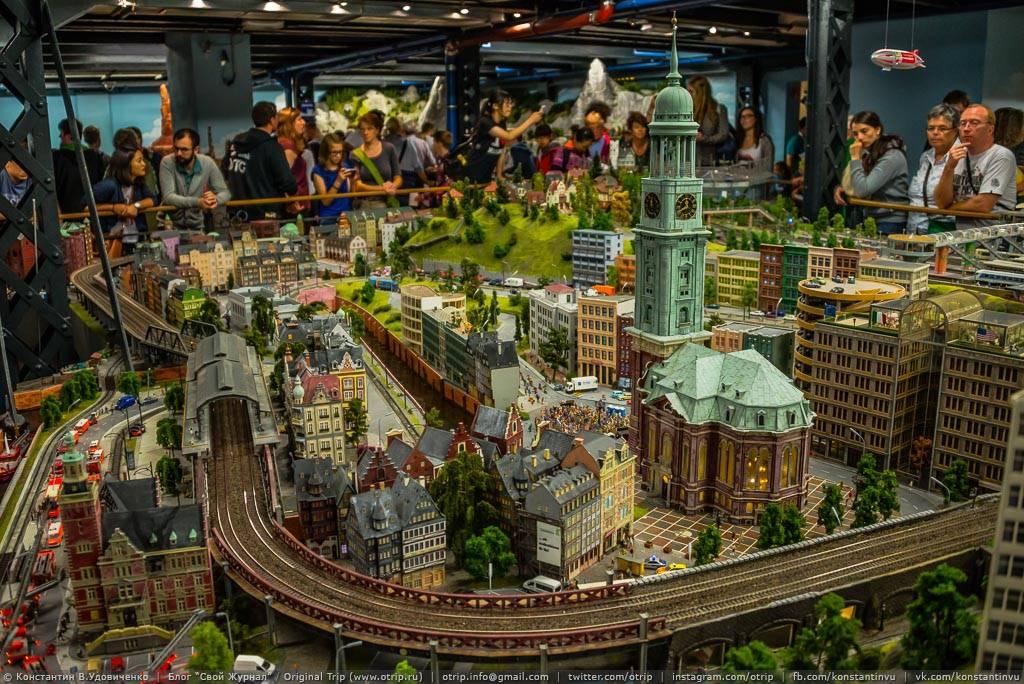 Wonderland: миниатюрная страна чудес - главная достопримечательность гамбурга