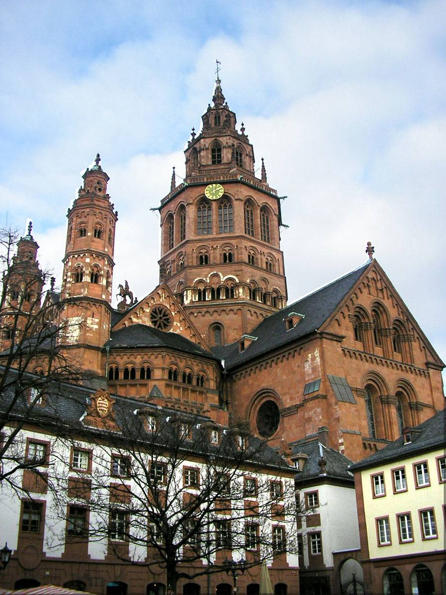 Майнцский собор (mainzer dom) в германии: фото, описание, история, архитектура, карта