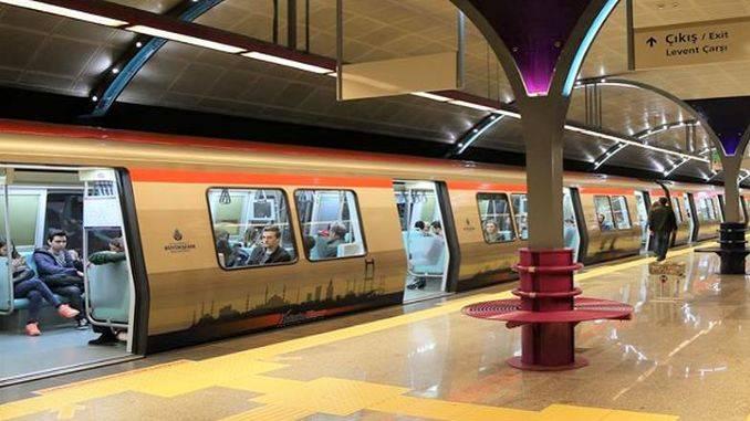 Стамбульский метрополитен
