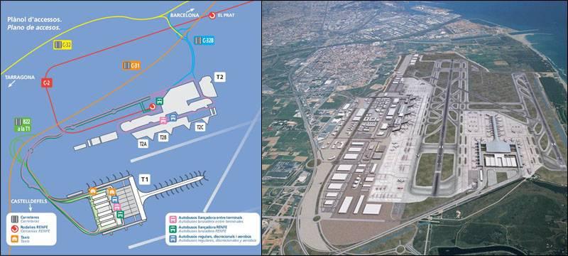 Как добраться в аэропорт барселоны (el prat - bcn)