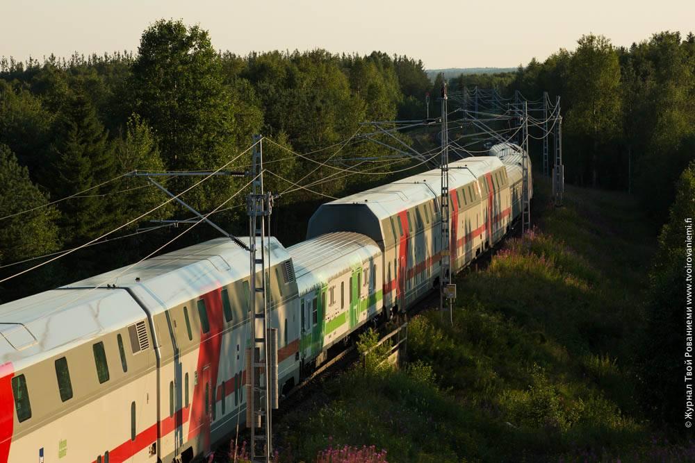 Как добраться до финляндии из петербурга на поезде