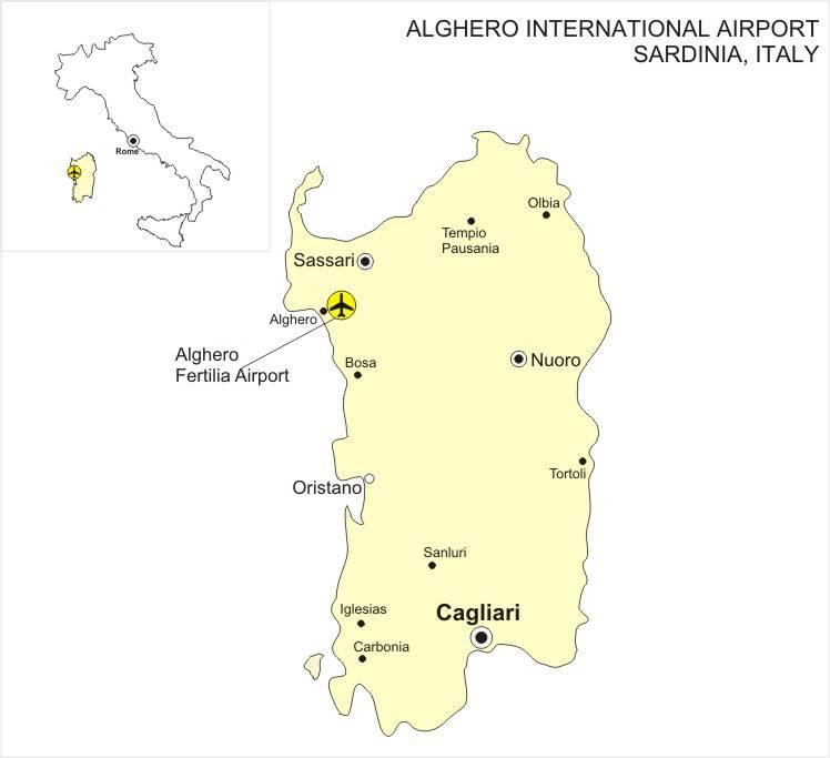 Аэропорты италии: список, описание