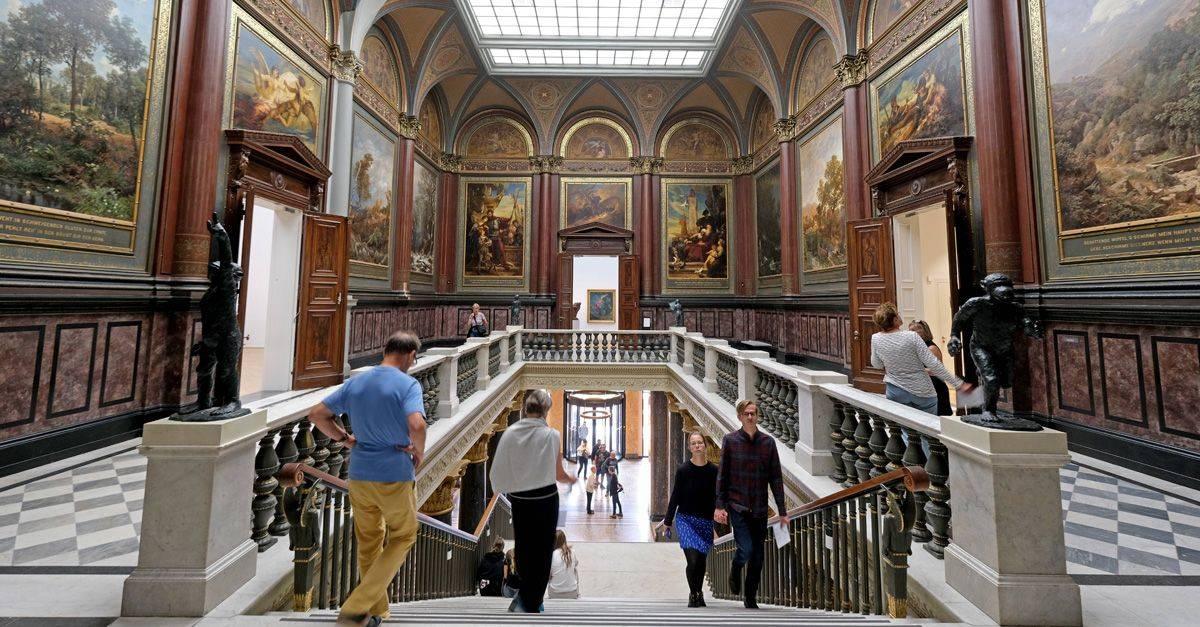 Гамбургский кунстхалле — википедия. что такое гамбургский кунстхалле