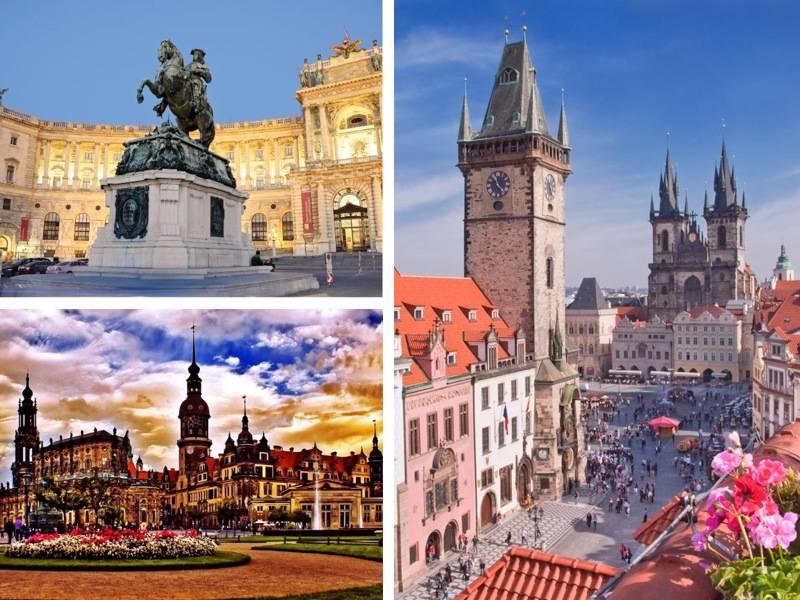 Прага - вена - будапешт, комбинированный тур : чехия от туроператора нисса-тур