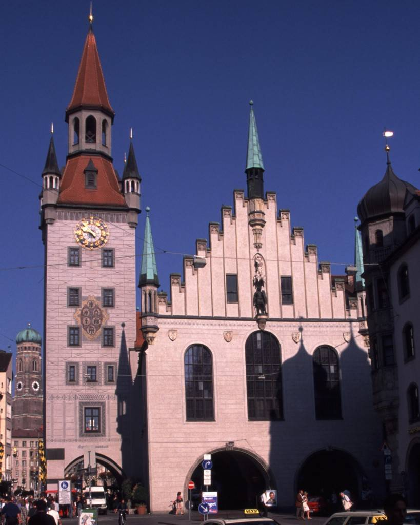 Старая ратуша (нем. altes rathaus)