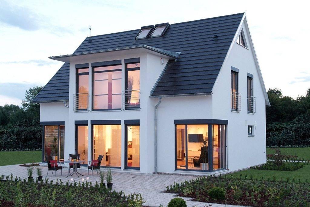 Архитектурные типы частных домов в германии