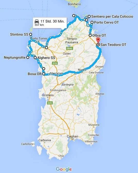 Где лучше отдыхать на сардинии — 7 курортов