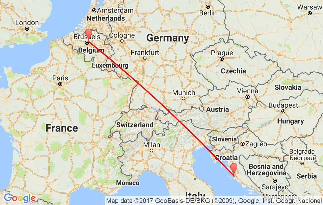 Как добраться из шарлеруа в брюссель