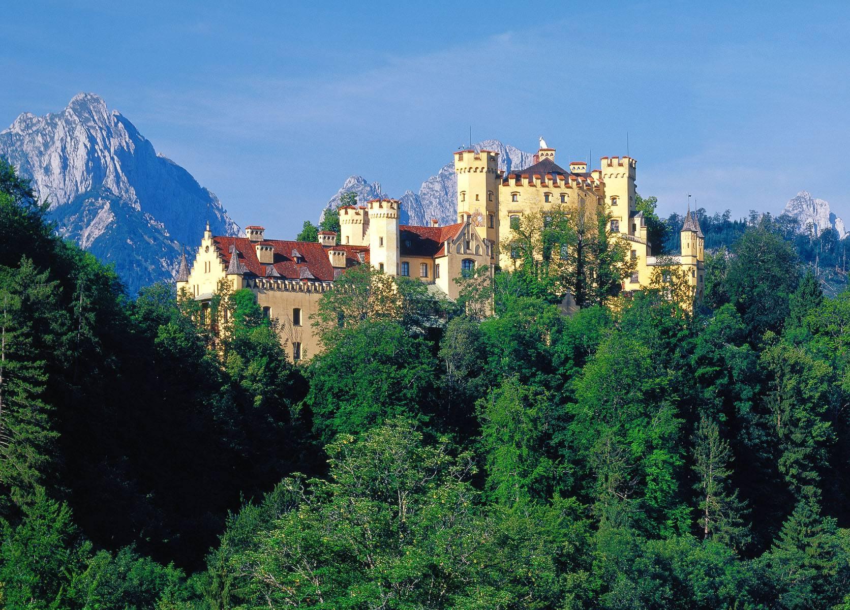 Сказочный замок хоэншвангау: история создания, описание дворца и фото