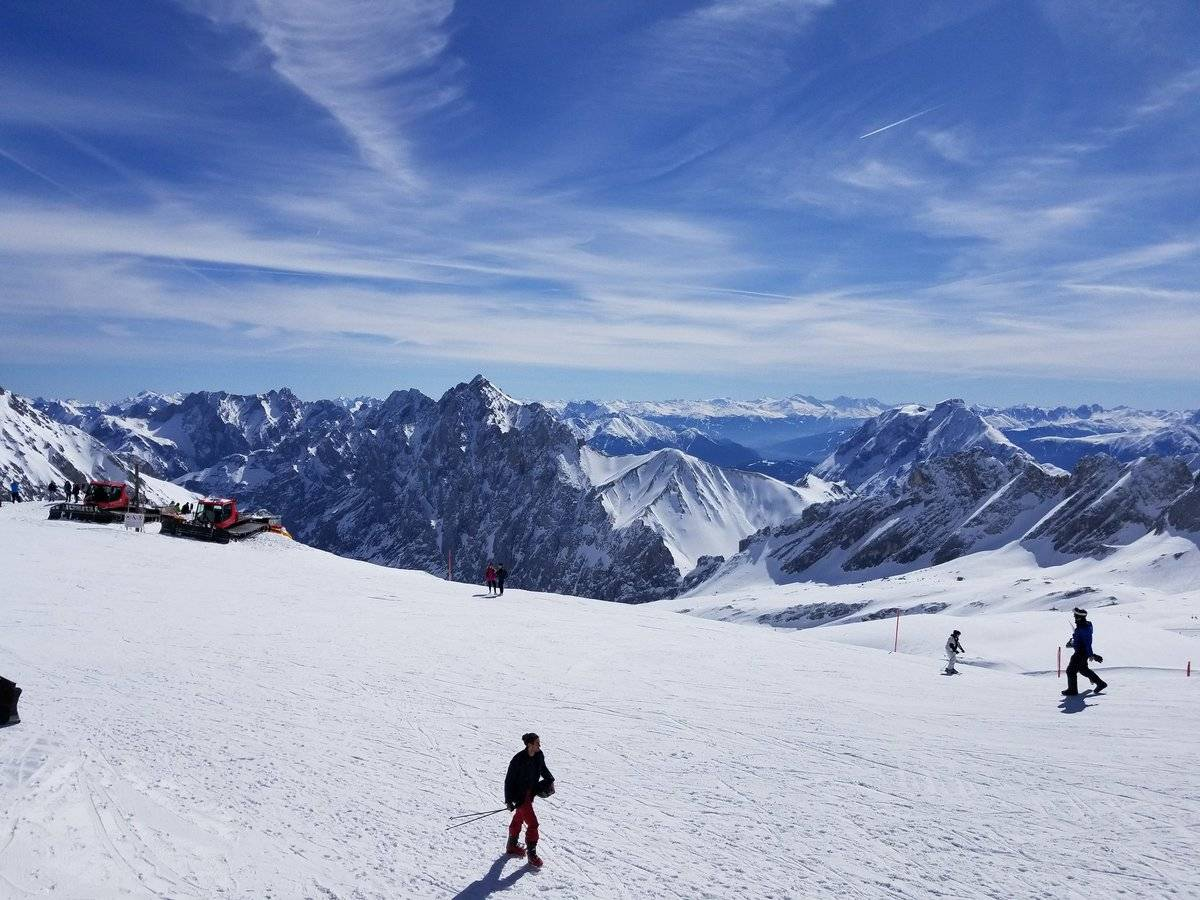 Карта горнолыжных курортов германии: истинно немецкое качество отдыха!