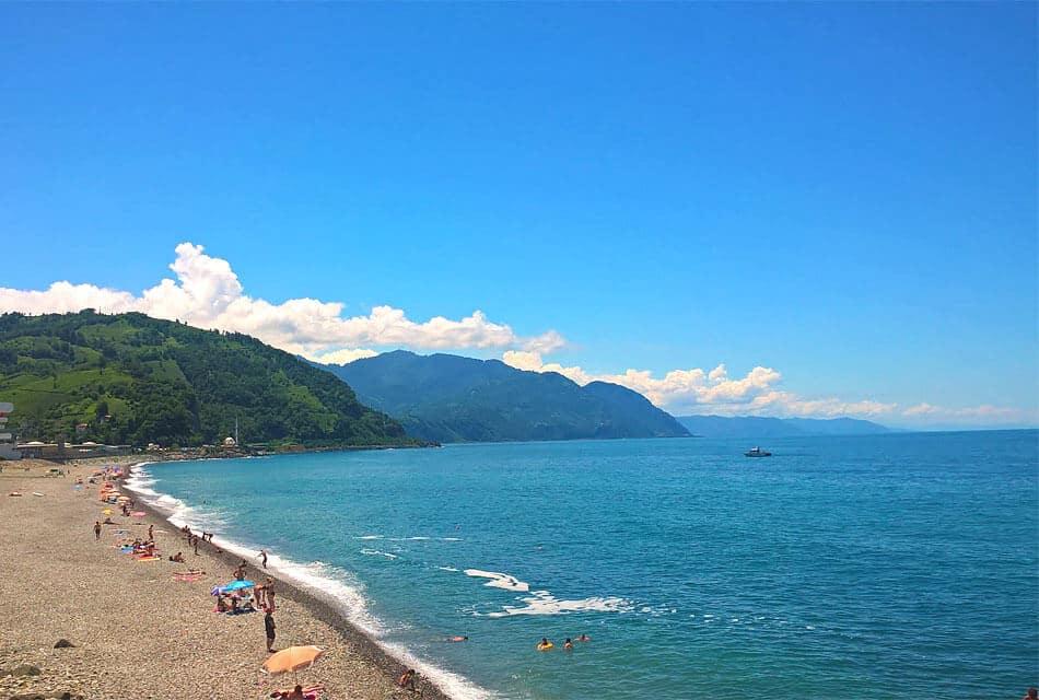 Курорты грузии на берегу черного моря - краткий обзор