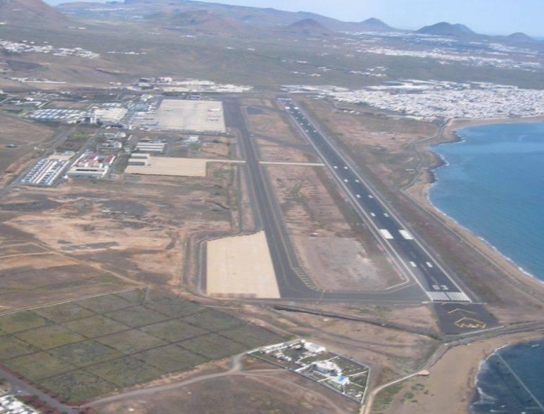 Международный аэропорт лансароте в испании