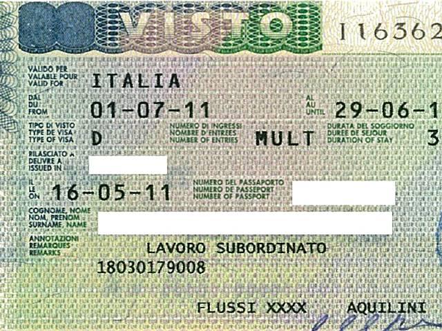 Студенческая виза в италию - документы, сроки и стоимость