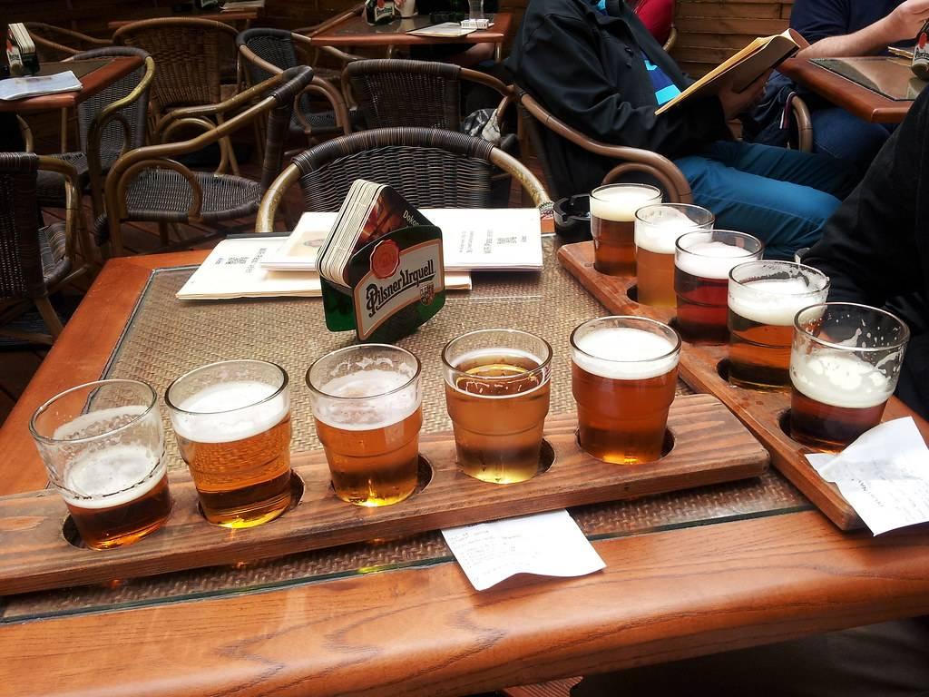 С чем пьют пиво в чехии