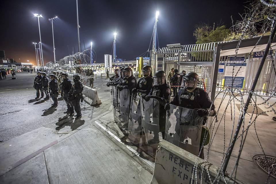 Пересечение границы мексики и сша