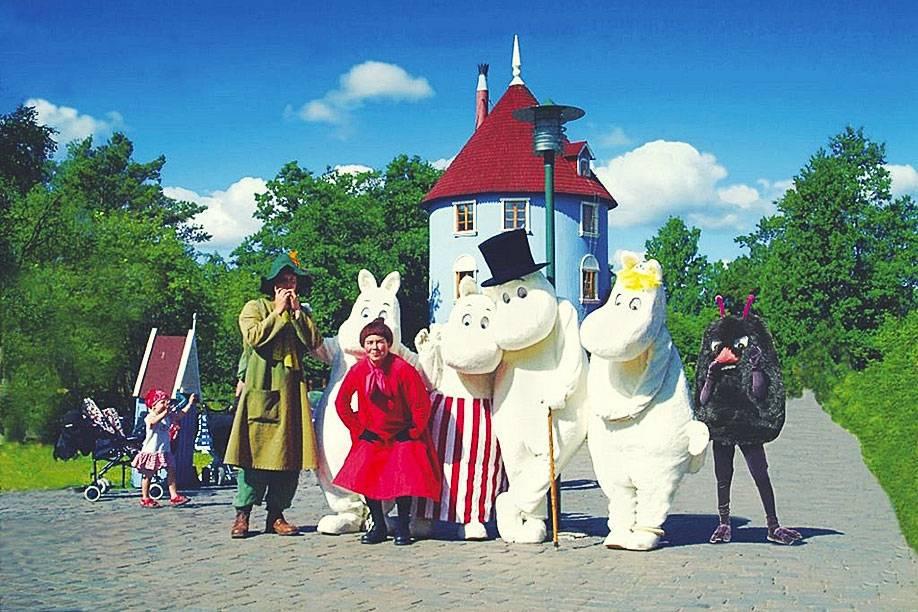 Сказочная страна муми-троллей в финляндии
