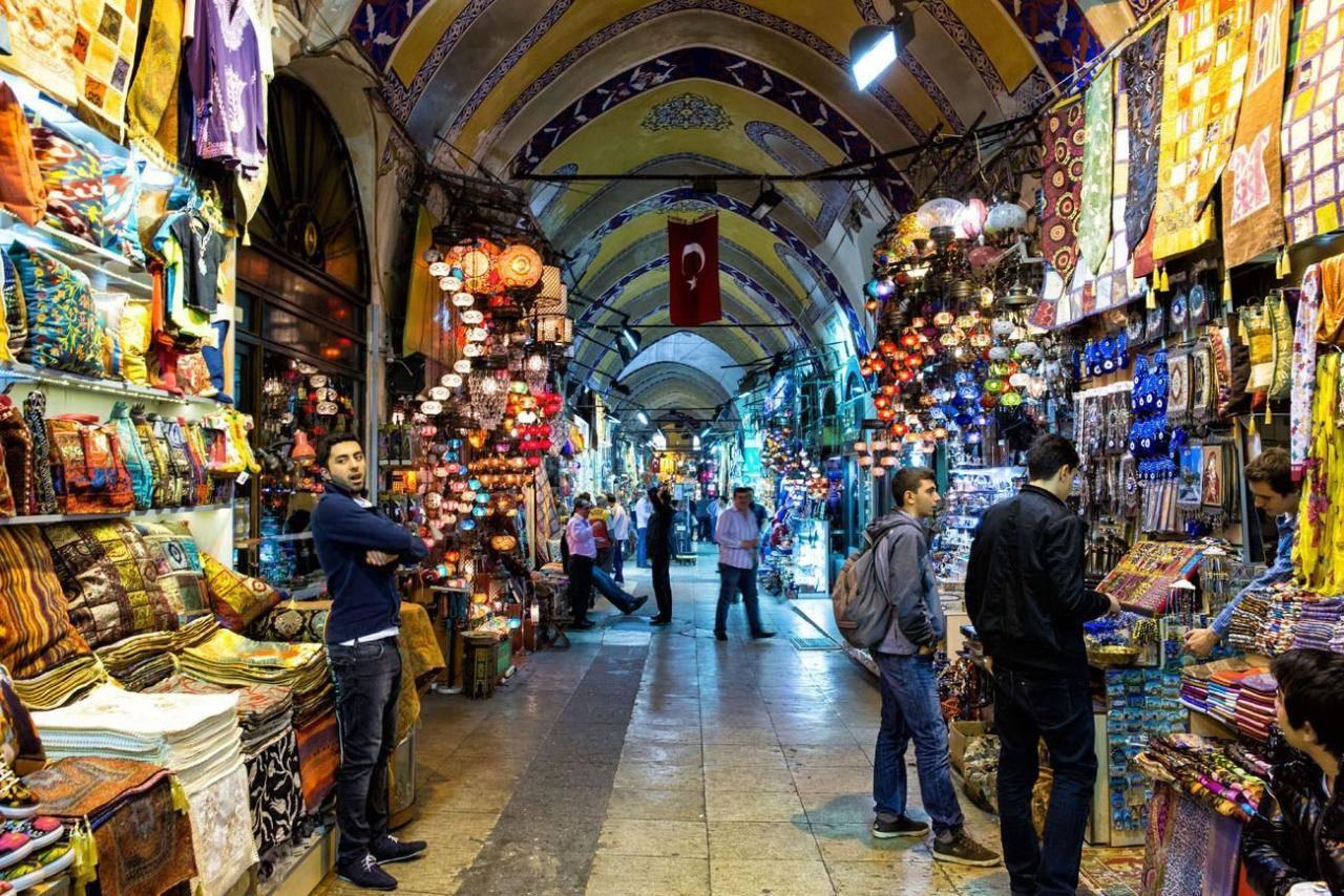 Гранд-базар в стамбуле— смотреть можно, покупать нельзя
