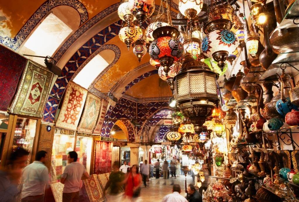 Базары стамбула – гранд базар и египетский рынок