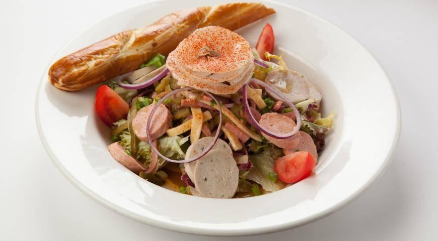 Салат «старый мюнхен. мюнхенский салат: лучшие рецепты к пиву и вечерней трапезе! салат «мюнхенский»: интересные рецепты и рекомендации по приготовлению